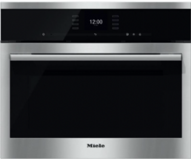 MIELE DGC6500 XL Steam combination oven | Clean Stainless Steel